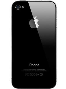 Retro-Cover-Nero-Iphone-4S-Ricambio-Compatibile