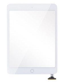 1digitizer_touch_screen_glass_front_assembly_with_flex_cable_and_home_button_housing_replacement_part_for_ipad_mini_-_white